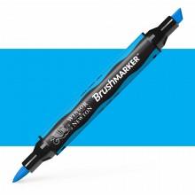 Winsor & Newton : Brush Marker : Cyan