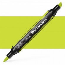 Winsor & Newton : Brush Marker : Lime Green