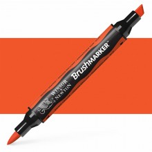 Winsor & Newton : Brush Marker : Bright Orange