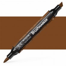 Winsor & Newton : Brush (Pro)Marker : Burnt Sienna