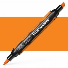 Winsor & Newton : Brush Marker : Pumpkin