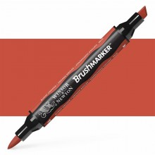 Winsor & Newton : Brush Marker : Burnt Orange