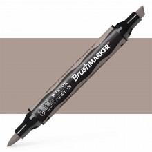 Winsor & Newton : Brush (Pro)Marker : Warm Grey 3