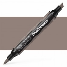 Winsor & Newton : Brush Marker : Warm Grey 4