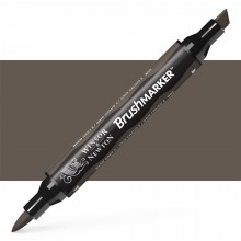 Winsor & Newton : Brush (Pro)Marker : Warm Grey 5