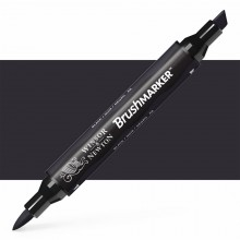 Winsor & Newton : Brush (Pro)Marker : Black