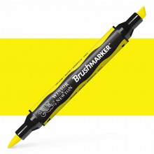 Winsor & Newton : Brush Marker : Yellow