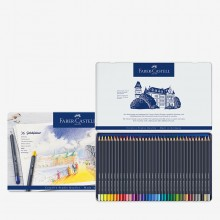 Faber Castell : Goldfaber : Coloured Pencil : Metal Tin Set of 36