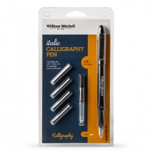 William Mitchell : Italic Calligraphy Fountain Pen