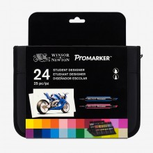 Winsor & Newton : ProMarker : Set of 24 in Wallet