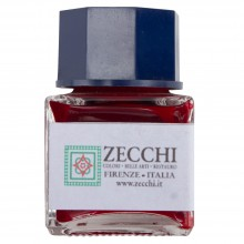 Zecchi : Historic Pigment Drawing Ink : 30ml : Cochineal Carmine Red