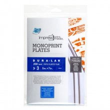 Grafix : Impress Print Media : Monoprint Plate : 5x7in : Pack of 3
