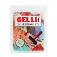 Gelli Plate : Gel Printing Plate : 8x10in