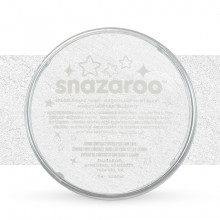 Snazaroo Face Paints Individual Sparkle Colours 18ml White