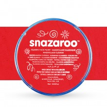 Snazaroo Face Paints Individual Classic Colours 18ml Bright Red