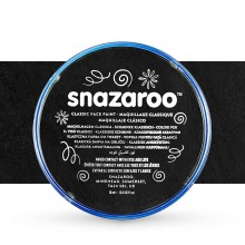 Snazaroo Face Paints Individual Classic Colours 18ml Black