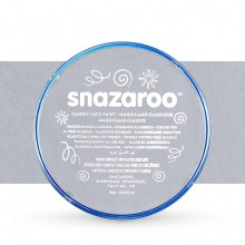 Snazaroo Face Paints Individual Classic Colours 18ml Light Grey