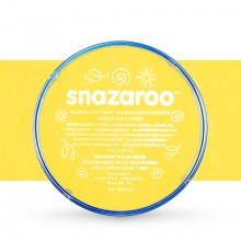 Snazaroo Face Paints Individual Classic Colours 18ml Bright Yellow