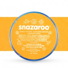 Snazaroo Face Paints Individual Classic Colours 18ml Ochre Yellow