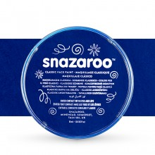 Snazaroo Face Paints Individual Classic Colours 18ml Dark Blue