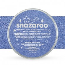 Snazaroo Face Paints Individual Sparkle Colours 18ml Blue