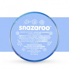 Snazaroo Face Paints Individual Classic Colours 18ml Pale Blue