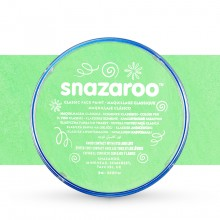Snazaroo Face Paints Individual Classic Colours 18ml Pale Green