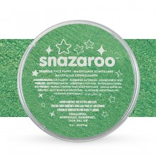 Snazaroo Face Paints Individual Sparkle Colours 18ml Pale Green