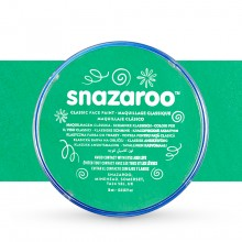 Snazaroo Face Paints Individual Classic Colours 18ml Bright Green