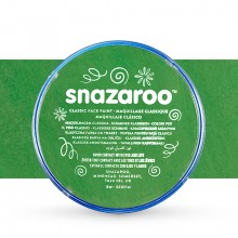 Snazaroo Face Paints Individual Classic Colours 18ml Grass Green