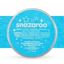 Snazaroo Face Paints Individual Sparkle Colours 18ml Turquoise