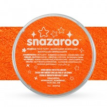 Snazaroo : Face Paints Individual Sparkle Colours 18ml Orange