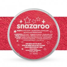Snazaroo : Face Paints Individual Sparkle Colours 18ml Red