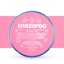 Snazaroo Face Paints Individual Classic Colours 18ml Pale Pink