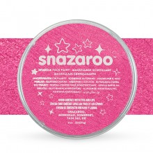 Snazaroo Face Paints Individual Sparkle Colours 18ml Pink