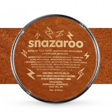Snazaroo : Face Paints Individual Metalic Colours 18ml Copper