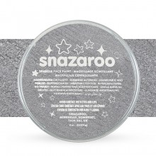 Snazaroo Face Paints Individual Sparkle Colours 18ml Gun Metal Grey
