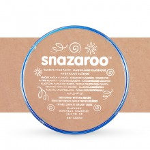 Snazaroo Face Paints Individual Classic Colours 18ml Barely Beige