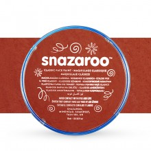 Snazaroo Face Paints Individual Classic Colours 18ml Rust Brown