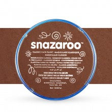 Snazaroo Face Paints Individual Classic Colours 18ml Light Brown