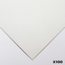 Bockingford : 140lb : 300gsm : Pack of 100 1/4 Sheets : 15x11in : Not