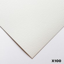 Bockingford : 140lb : 300gsm : Pack of 100 1/4 Sheets : 15x11in : Rough