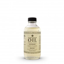 Chelsea Classical Studio : Clarified Extra Pale Cold Pressed Linseed Oil : 4oz (118ml)