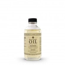 Chelsea Classical Studio : Clarified Pale Cold Pressed Walnut Oil : 4oz (118ml)
