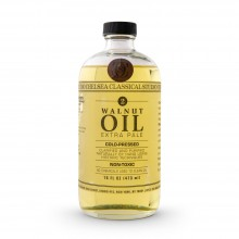Chelsea Classical Studio : Clarified Pale Cold Pressed Walnut Oil : 16oz (473ml)