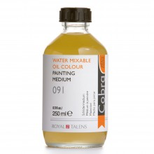 Talens : Cobra Water Mixable Oil Painting Medium : 250ml
