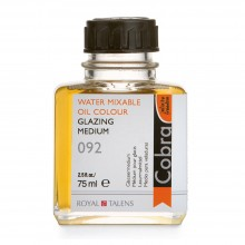 Talens : Cobra Water Mixable Oil : Glazing Medium : 75ml