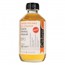 Talens : Cobra Water Mixable Oil : Quick Drying Medium : 250ml