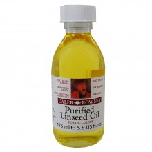 Daler Rowney : Purified Linseed Oil : 175ml