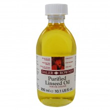 Daler Rowney : Purified Linseed Oil : 300ml